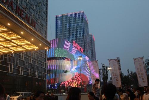 万达广场案例展示