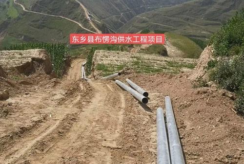 东乡县布愣沟供水工程项目